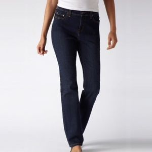 Levi's 512 Perfectly Slimming Straight Leg Jeans.